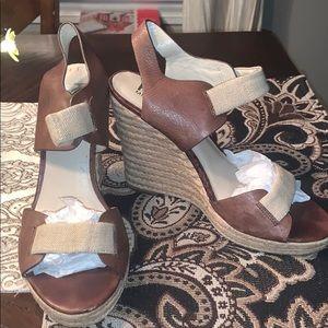 Michael Kors Wedge Sandals sz 91/2